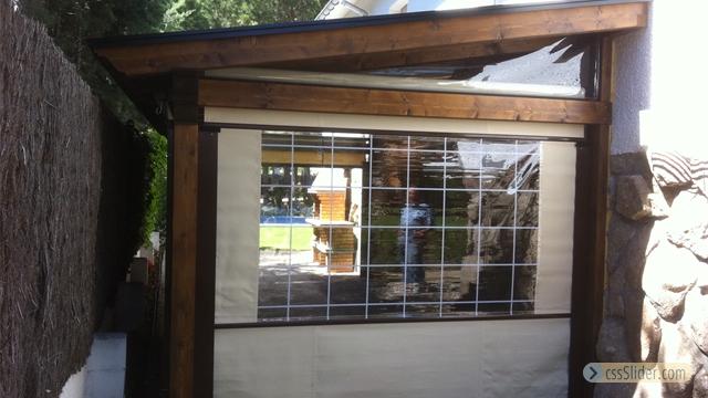 Galeria de fotos porches de madera adosados pergolas cenadores madrid - Fotos de porches ...
